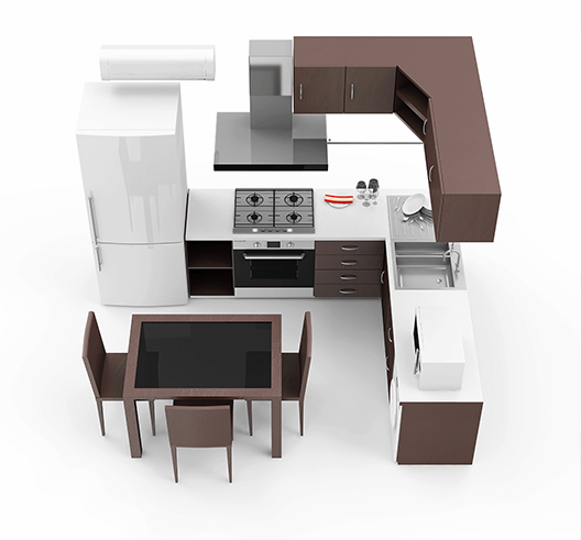 Kitchen Designs with 3D Images - Metro Kitchens